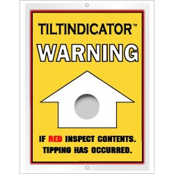 Tiltindicator indicateur de renversement