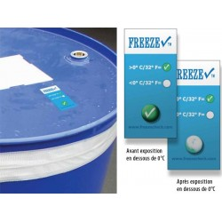 Freezecheck - Indicateur de gel 0°C ou -5°C
