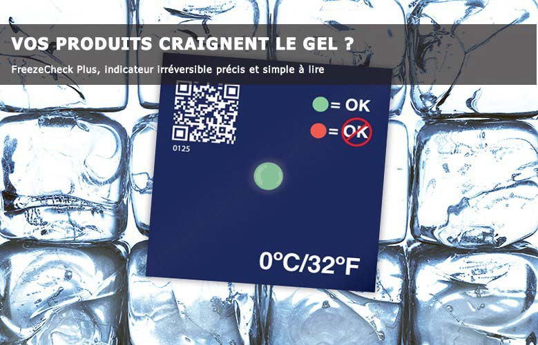 Indicateur de gel Freezecheck Plus