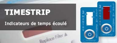 Indicateurs de temps Timestrip - nombreuses applications possibles