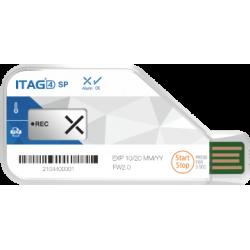 ITAG4 SP Enregistreur de température usage unique USB PDF LCD