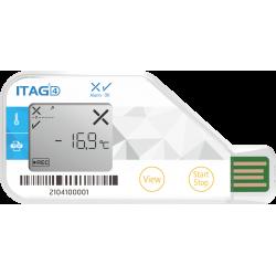 ITAG4 enregistreur de température usage unique avec écran LCD
