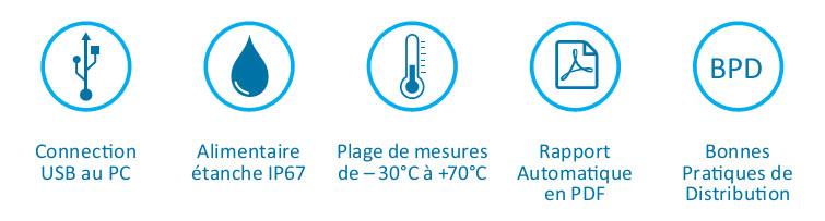 Tempmate S1 enregistreur de température